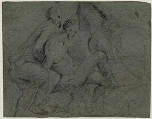 Jacopo Bassano (Jacopo Da Ponte) - Study for 'The Good Samaritan