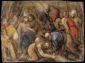 Jacopo Bassano (Jacopo Da Ponte) - The Betrayal of Christ