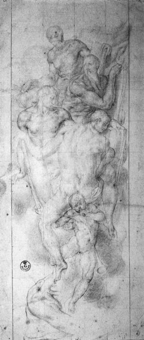 Four Evangelists by Jacopo Carucci (Pontormo) (1494-1557, Italy)
