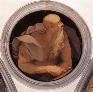 Jacopo Carucci (Pontormo) - St John the Evangelist