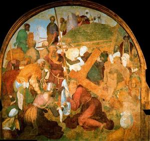 Jacopo Carucci (Pontormo) - The Ascent to Calvary