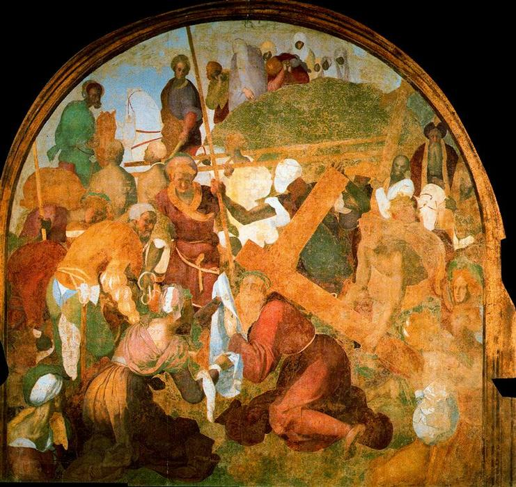 The Ascent to Calvary by Jacopo Carucci (Pontormo) (1494-1557, Italy)