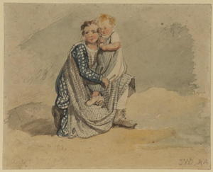 James Ward - Mother and child