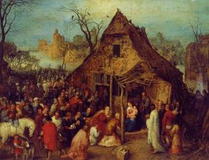 Jan Brueghel The Elder - The Adoration of the Magi 2