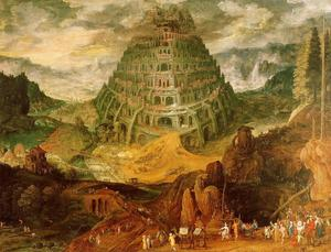 Jan Brueghel The Elder - The Tower of Babel