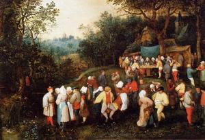 Jan Brueghel The Elder - The Wedding Feast