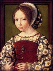 Jan Gossaert (Mabuse) - A Little Girl
