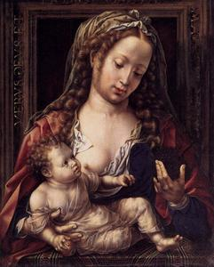 Jan Gossaert (Mabuse) - Virgin and Child 1