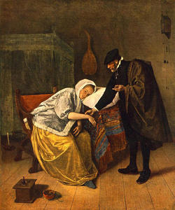 Jan Steen - The Doctor and His Patient