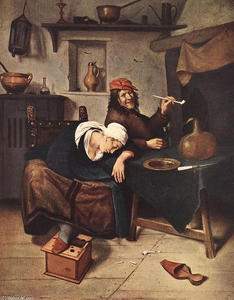Jan Steen - The Drinker