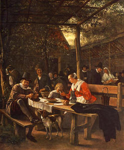 Jan Steen - The Picnic