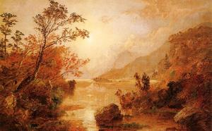 Jasper Francis Cropsey - Autumn in the Highlands of the Hudson