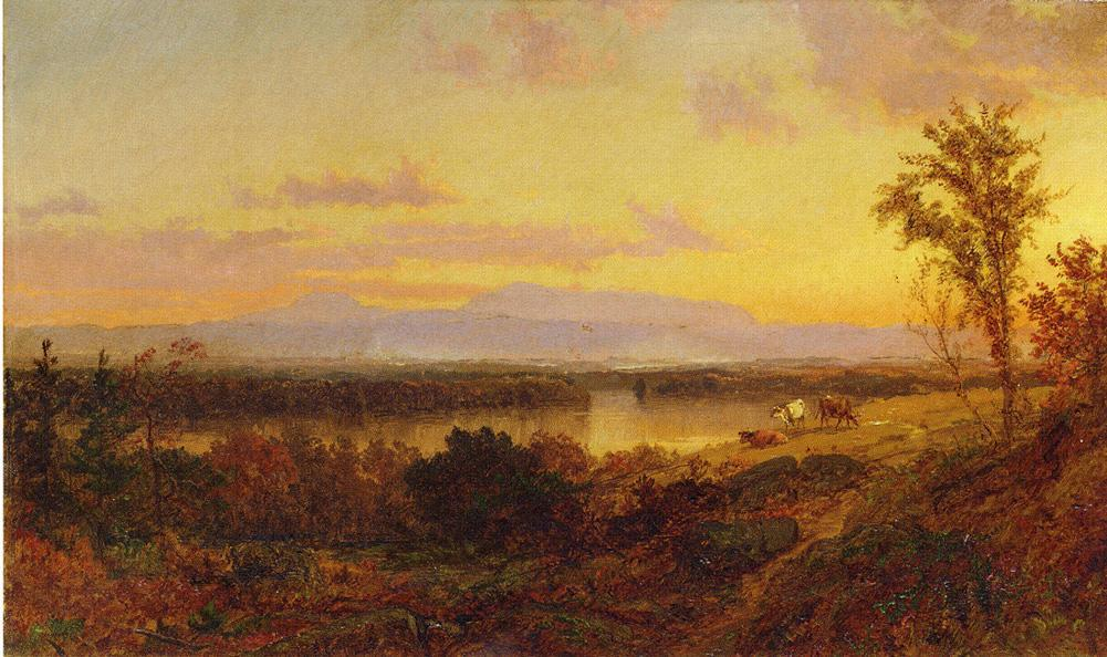 Autumn Landscape 4 by Jasper Francis Cropsey (1823-1900, United States) | WahooArt.com