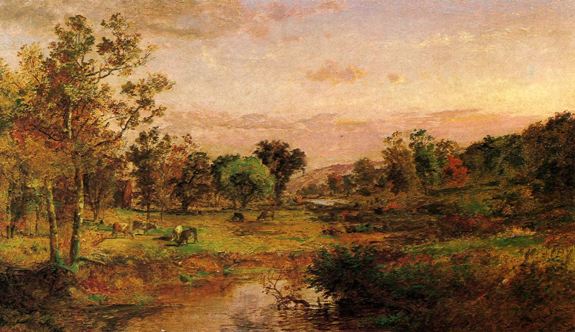 Autumn Pastoral by Jasper Francis Cropsey (1823-1900, United States) | Art Reproduction | WahooArt.com