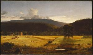 Jasper Francis Cropsey - Bareford Mountains, West Milford, New Jersey