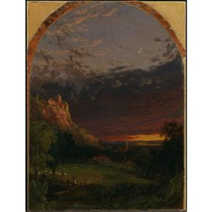 Jasper Francis Cropsey - Evening