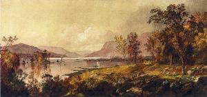 Jasper Francis Cropsey - Greenwood Lake, New Jersey, in September