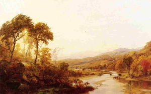 Jasper Francis Cropsey - Headwaters of the Hudson
