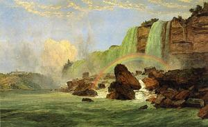 Jasper Francis Cropsey - Niagara Falls with View of Clifton House