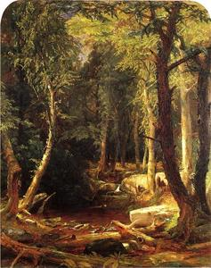 Jasper Francis Cropsey - Pool in the Woods