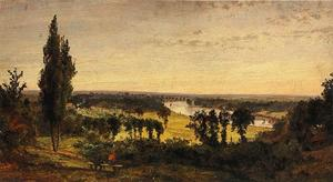 Jasper Francis Cropsey - Richmond Hill and the Thames, London