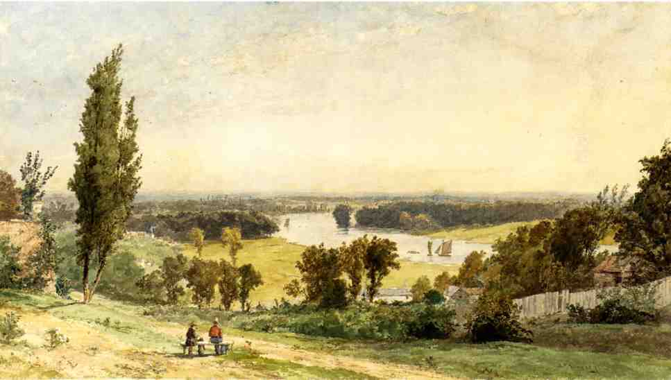 Richmond Hill in 1862 by Jasper Francis Cropsey (1823-1900, United States) | WahooArt.com
