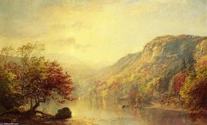 Jasper Francis Cropsey - River in Autumn