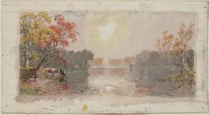 Jasper Francis Cropsey - River in Mist