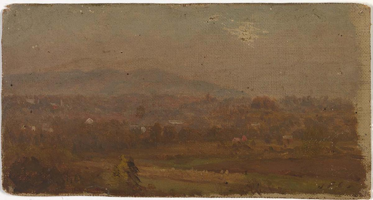 Untitled 2 by Jasper Francis Cropsey (1823-1900, United States) | Oil Painting | WahooArt.com
