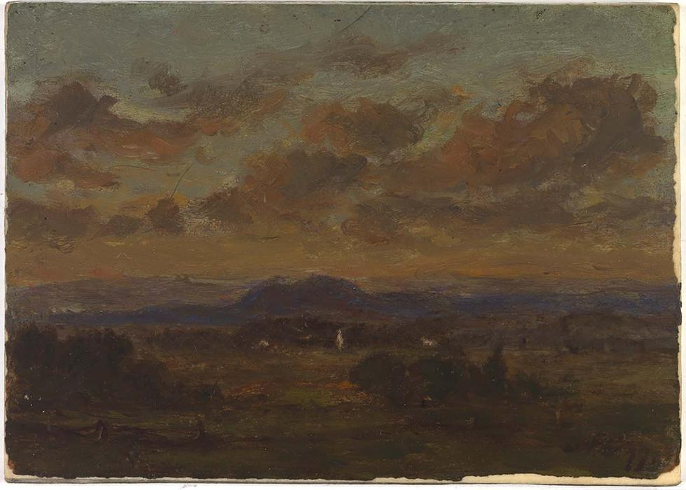 Untitled 5 by Jasper Francis Cropsey (1823-1900, United States)