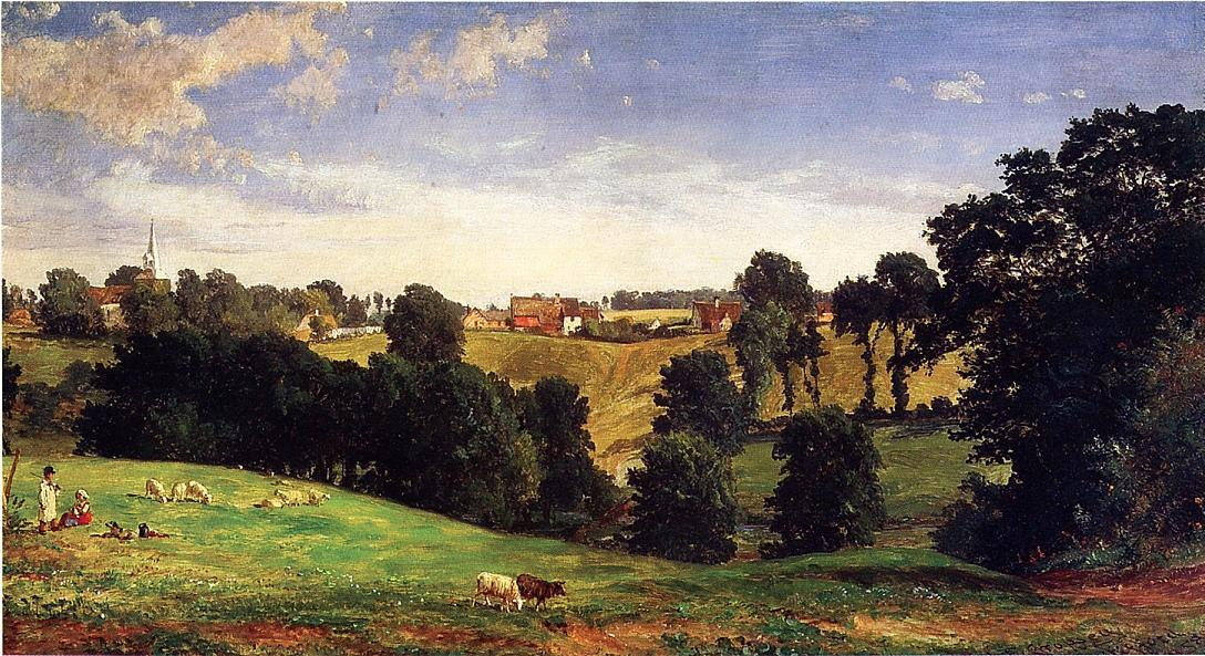 View of Stifford, Oil On Canvas by Jasper Francis Cropsey (1823-1900, United States)