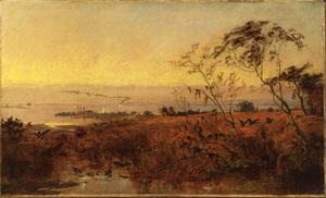 Jasper Francis Cropsey - View on the Chesapeake Bay
