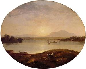 Jasper Francis Cropsey - View on the Hudson River