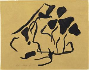 Jean (Hans) Arp - Automatic Drawing