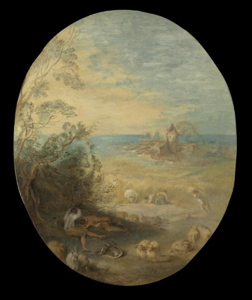 Summer by Jean-Baptiste Pater (1695-1736, France) | Museum Quality Reproductions | WahooArt.com