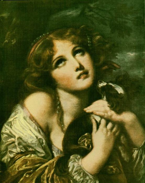 Order Reproductions | The Souvenir, Fidelity by Jean-Baptiste Greuze (1725-1805, France) | WahooArt.com
