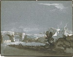 Jean-Baptiste Oudry - Landscape with River