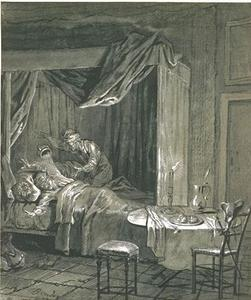 Jean-Baptiste Oudry - The adventure of the chamber pot