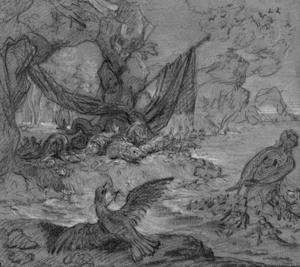Jean-Baptiste Oudry - The Fish of Glaucus and Periclymenus