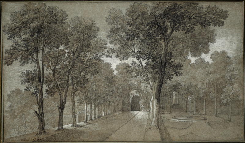 View of the Park at Arcueil by Jean-Baptiste Oudry (1686-1755, France)