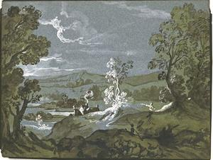 Jean-Baptiste Oudry - Wooded valley