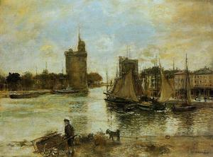 Jean-François Raffaelli - The Port of La Rochelle in Autumn