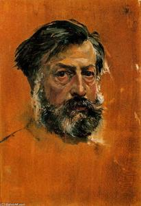 Jean Louis Ernest Meissonier - Self-portrait