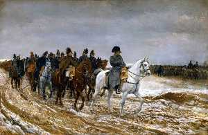 Jean Louis Ernest Meissonier - The French Campaign