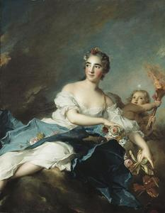 Jean-Marc Nattier - THE COUNTESS DE BRAC AS AURORA