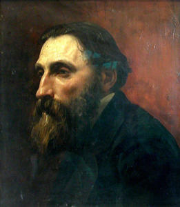 Jean-Paul Laurens - Portrait of Rodin