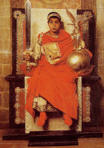 Jean-Paul Laurens - The Late Empire Honorius