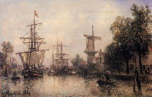Johan Barthold Jongkind - The Port of Rotterdam