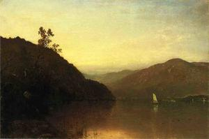 John Frederick Kensett - Along the Hudson 1