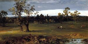 John Frederick Kensett - At Pasture